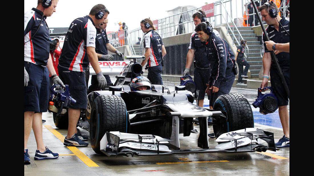 Valtteri Bottas - Williams - Formel 1 - GP England - Silverstone - 6. Juli 2012