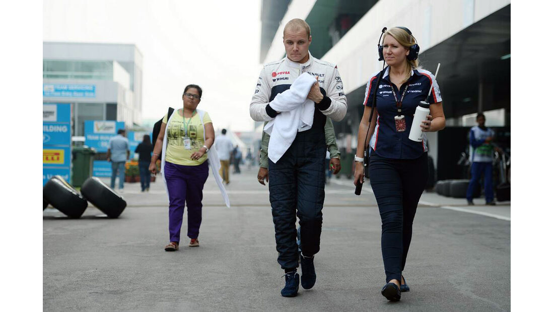 Valtteri Bottas - Williams - Formel 1 - GP Indien - 26. Oktober 2013