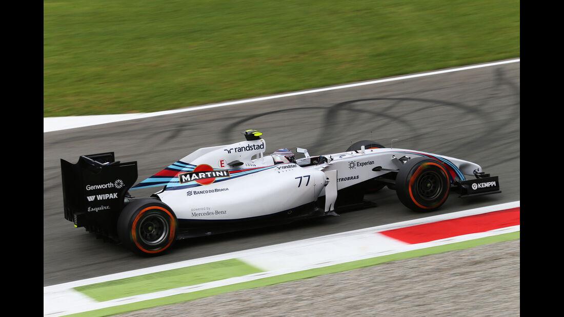 Valtteri Bottas - Williams - Formel 1 - GP Italien - 5. September 2014