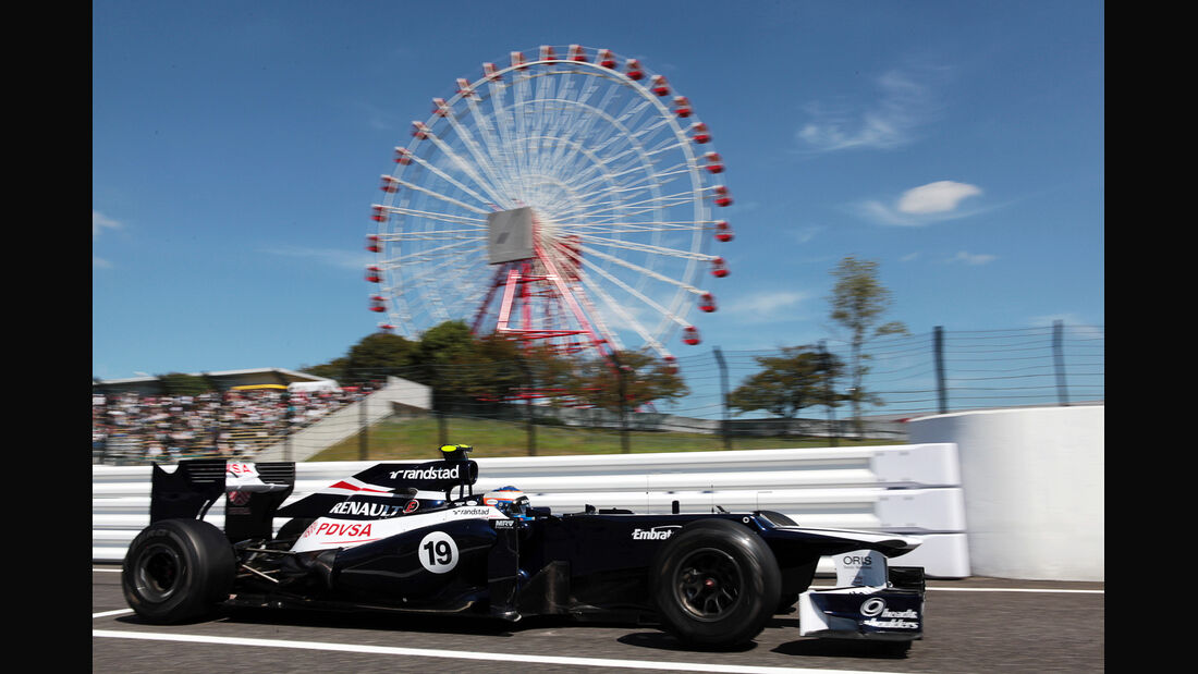 Valtteri Bottas - Williams - Formel 1 - GP Japan - Suzuka - 5. Oktober 2012