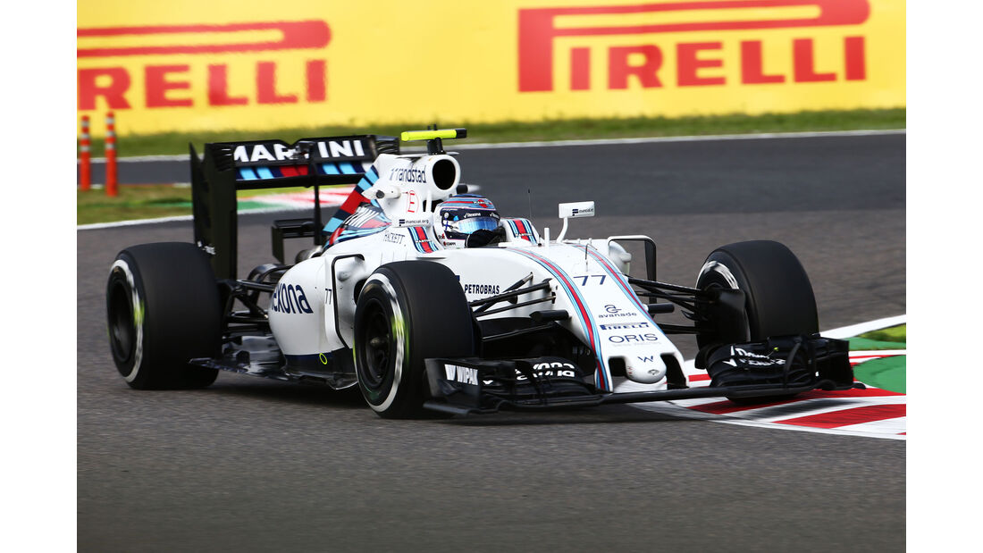 Valtteri Bottas - Williams - Formel 1 - GP Japan - Suzuka - Freitag - 7.10.2016