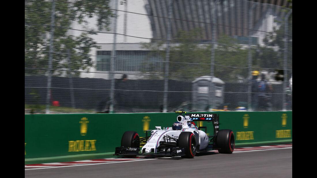 Valtteri Bottas - Williams - Formel 1 - GP Kanada - Montreal - 6. Juni 2015