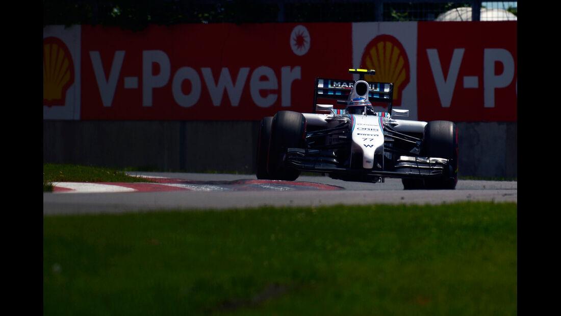 Valtteri Bottas - Williams - Formel 1 - GP Kanada - Montreal - 7. Juni 2014