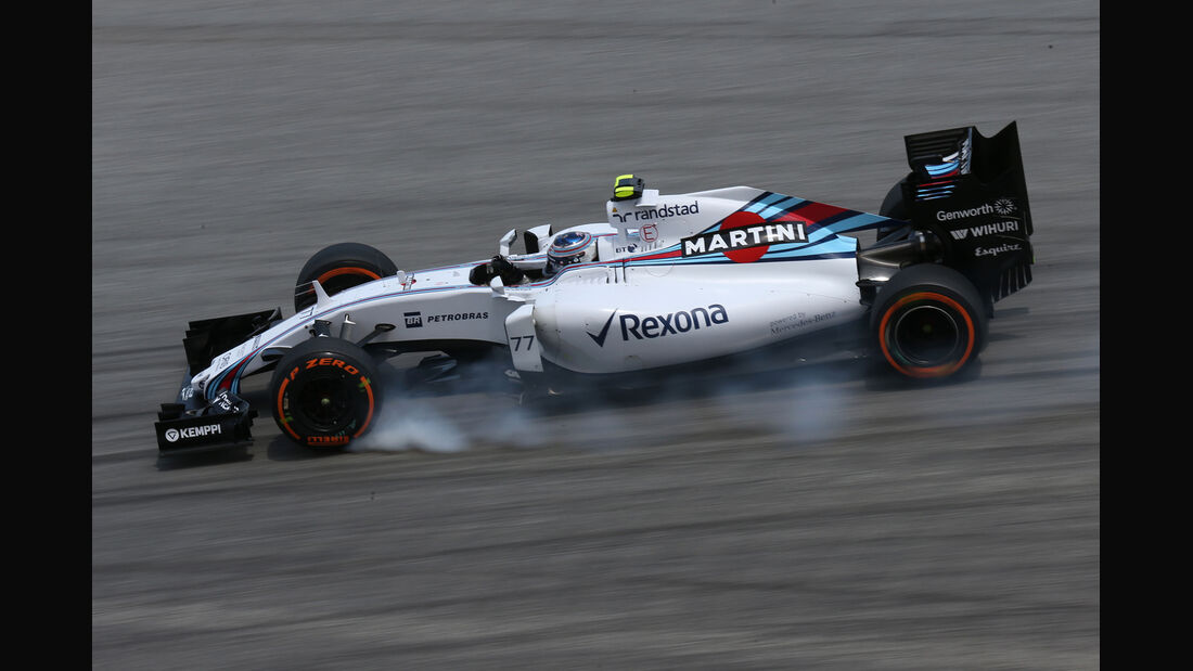 Valtteri Bottas - Williams - Formel 1 - GP Malaysia - 28. März 2015