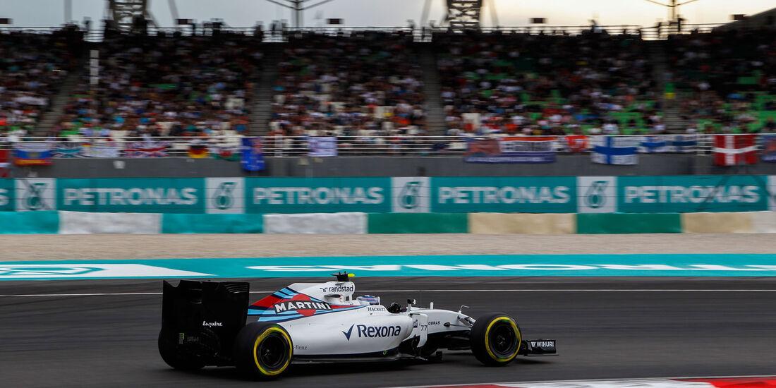 Valtteri Bottas - Williams - Formel 1 - GP Malaysia - Qualifying - 1. Oktober 2016