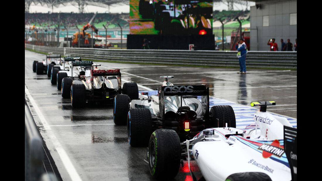 Valtteri Bottas - Williams - Formel 1 - GP Malaysia - Sepang - 29. März 2014