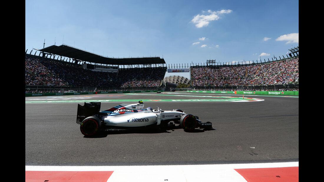 Valtteri Bottas - Williams - Formel 1 - GP Mexiko - 29. Oktober 2016
