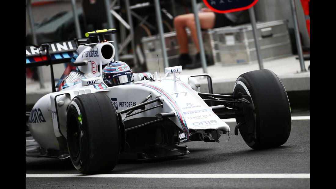Valtteri Bottas - Williams - Formel 1 - GP Mexiko - 30. Oktober 2015