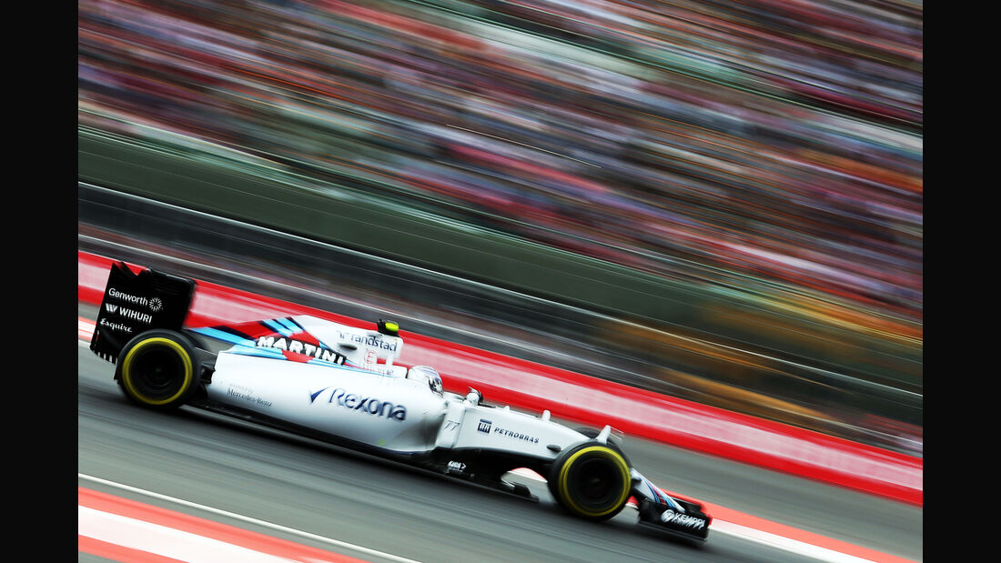 Valtteri Bottas - Williams - Formel 1 - GP Mexiko - 31. Oktober 2015
