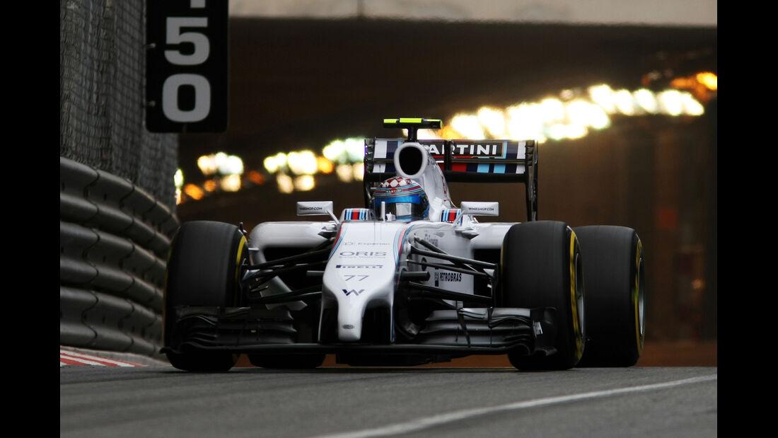 Valtteri Bottas - Williams - Formel 1 - GP Monaco - 22. Mai 2014