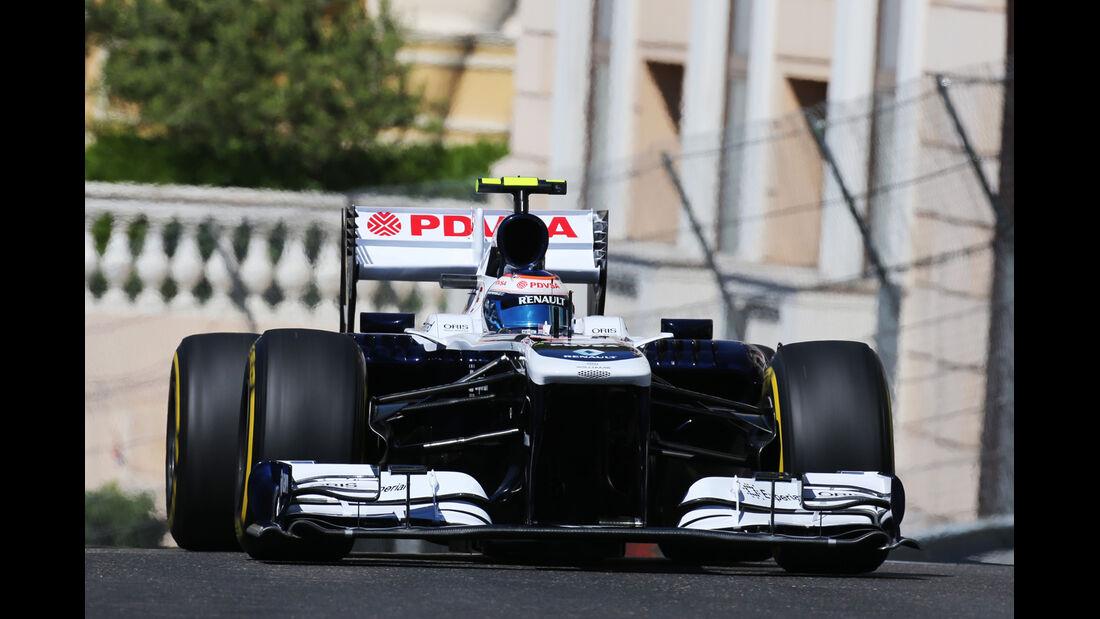 Valtteri Bottas - Williams - Formel 1 - GP Monaco - 23. Mai 2013