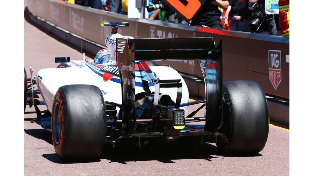Valtteri Bottas  - Williams - Formel 1 - GP Monaco - 24. Mai 2014