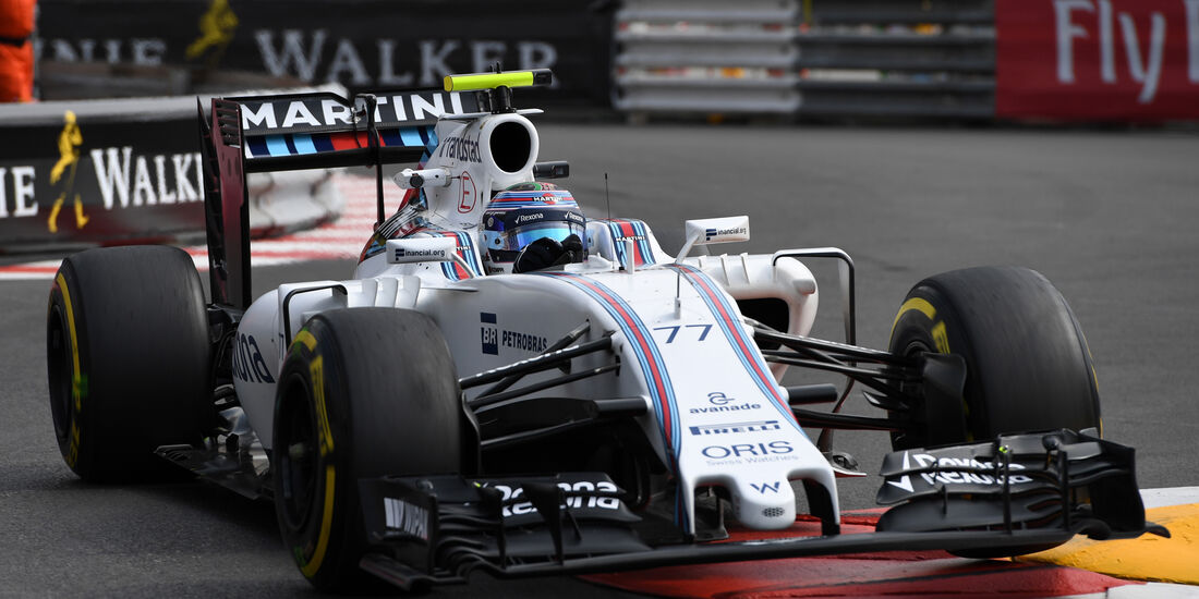 Valtteri Bottas - Williams - Formel 1 - GP Monaco - 26. Mai 2016