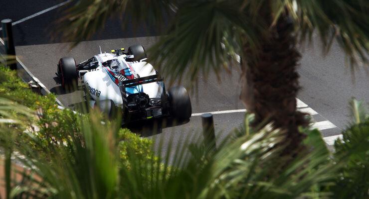 Valtteri Bottas - Williams - Formel 1 - GP Monaco - Samstag - 23. Mai 2015