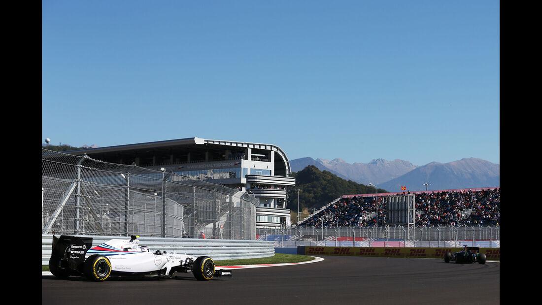 Valtteri Bottas - Williams - Formel 1 - GP Russland - 11. Oktober 2014