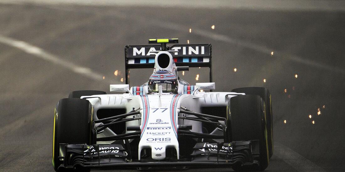 Valtteri Bottas - Williams - Formel 1 - GP Singapur - 18. September 2015