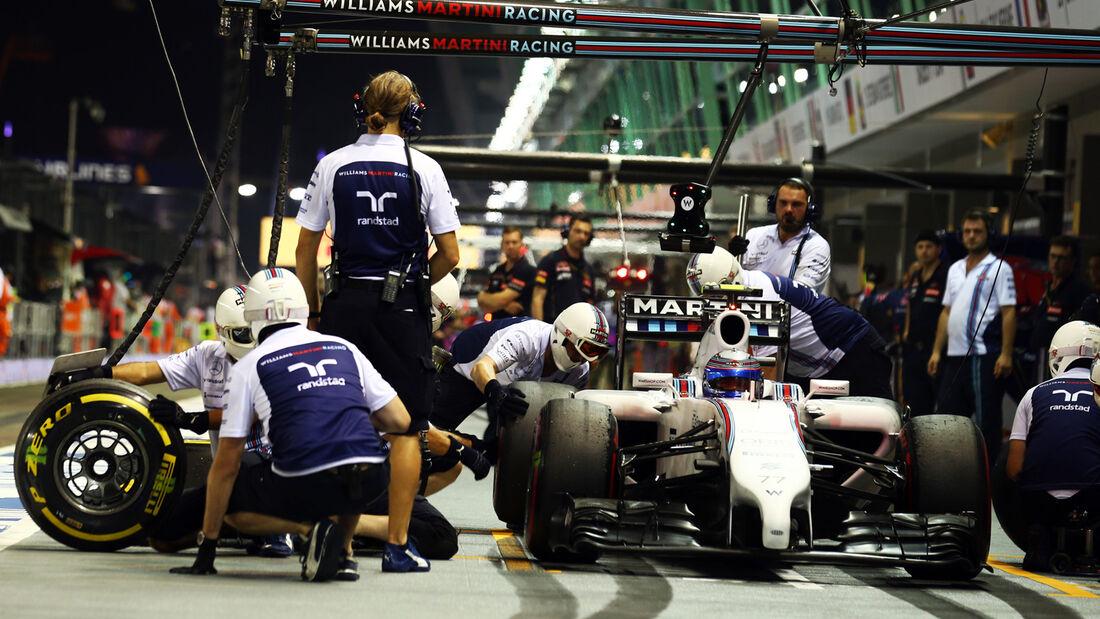 Valtteri Bottas - Williams - Formel 1 - GP Singapur - 19. September 2014