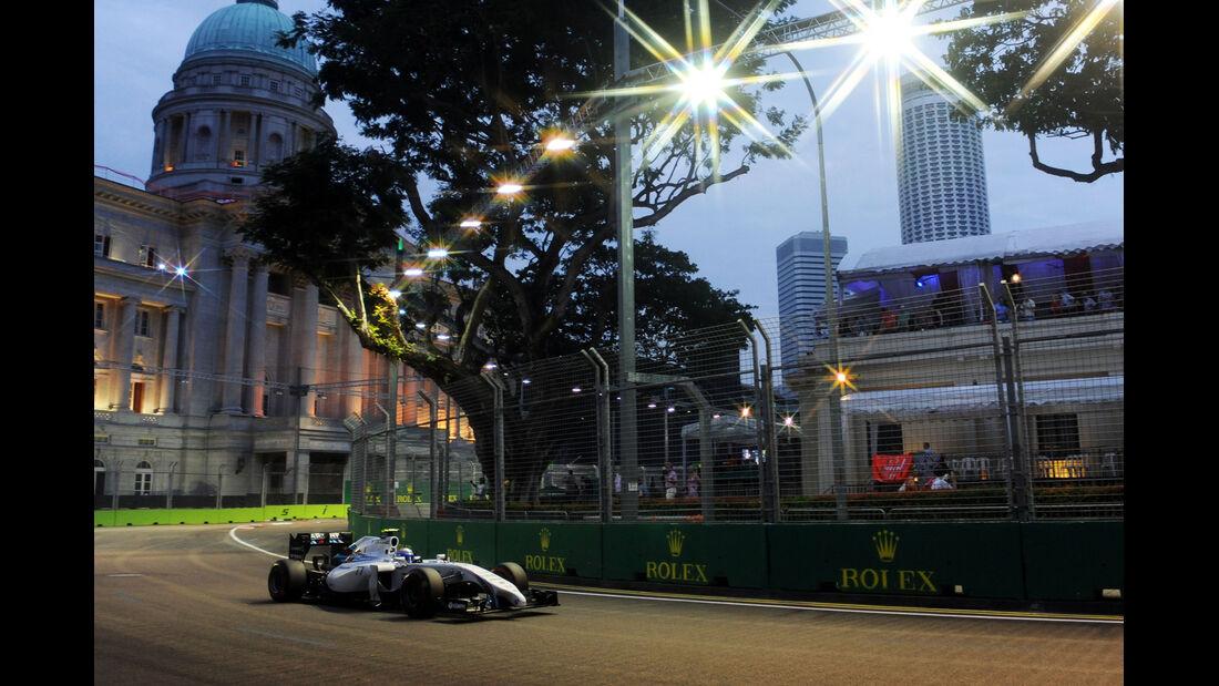 Valtteri Bottas - Williams - Formel 1 - GP Singapur - 20. September 2014