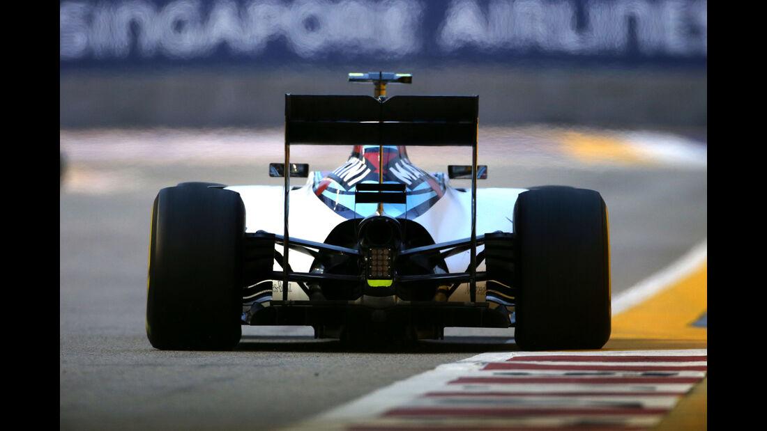 Valtteri Bottas - Williams - Formel 1 - GP Singapur - 20. September 2015