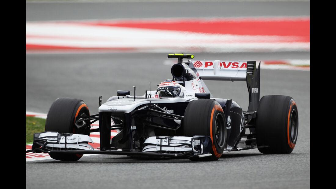 Valtteri Bottas - Williams - Formel 1 - GP Spanien - 10. Mai 2013