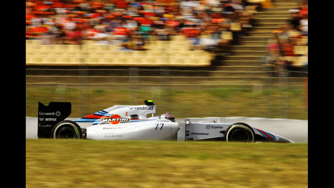 Valtteri Bottas - Williams - Formel 1 - GP Spanien - Barcelona - 10. Mai 2014