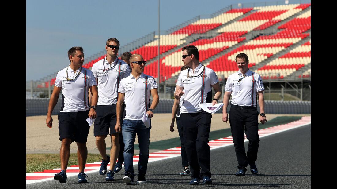 Valtteri Bottas - Williams - Formel 1 - GP Spanien - Barcelona - 8. Mai 2014