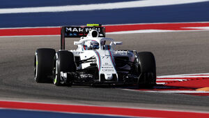 Valtteri Bottas - Williams - Formel 1 - GP USA - Austin - 21. Oktober 2016