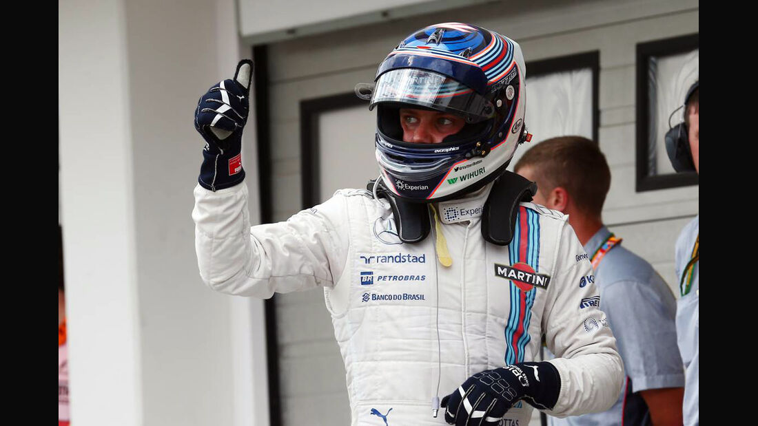 Valtteri Bottas - Williams - Formel 1 - GP Ungarn - 26. Juli 2014