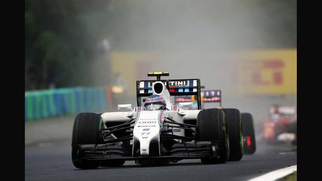 Valtteri Bottas - Williams - Formel 1 - GP Ungarn - 27. Juli 2014
