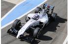 Valtteri Bottas - Williams - Formel 1 - Silverstone-Test - 9. Juli 2014
