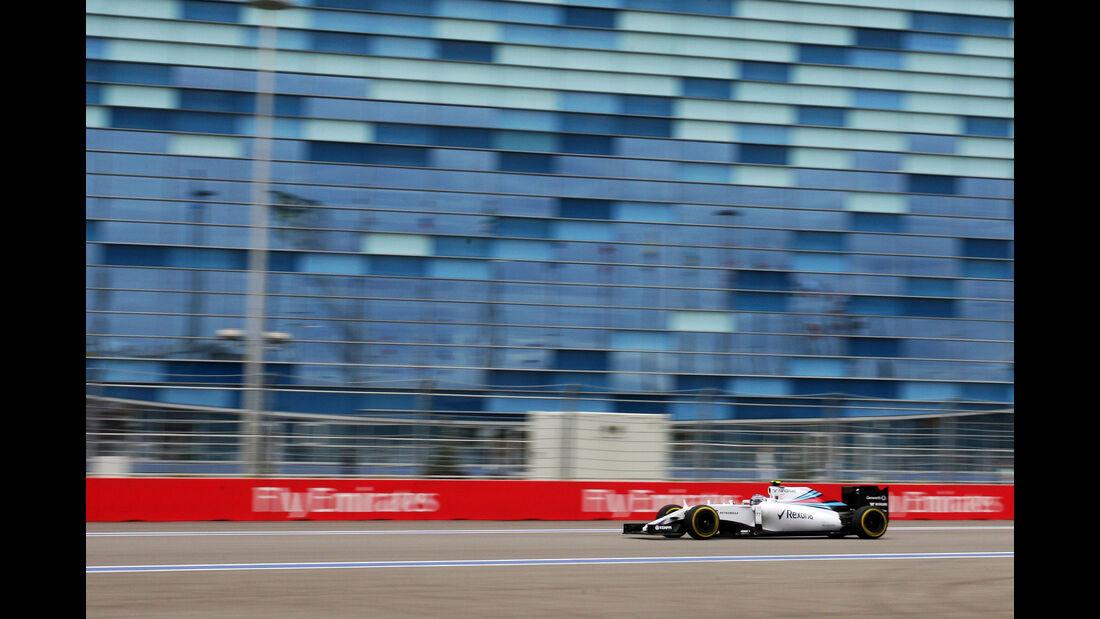 Valtteri Bottas - Williams - Formel 1 - Sochi - GP Russland - 9. Oktober 2015