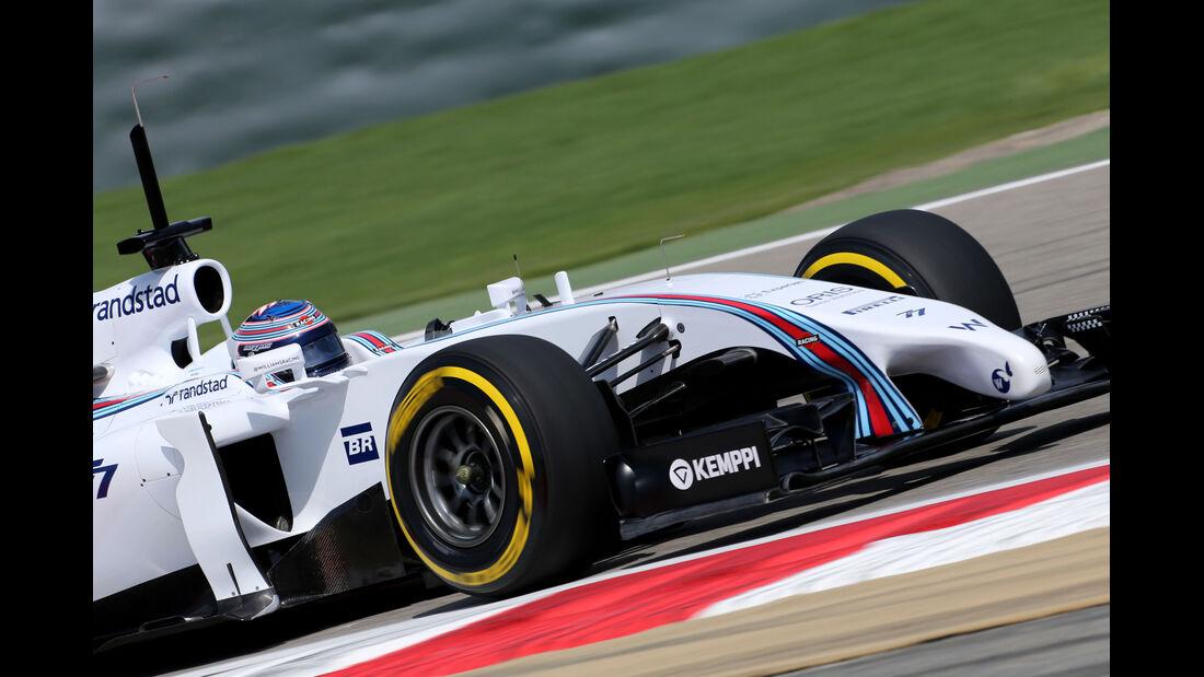 Valtteri Bottas - Williams - Formel 1 - Test 1 - GP Bahrain 2014