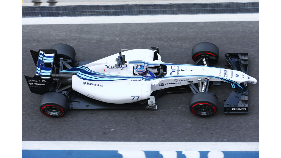 Valtteri Bottas - Williams - Formel 1 Test - Abu Dhabi - 25. November 2014