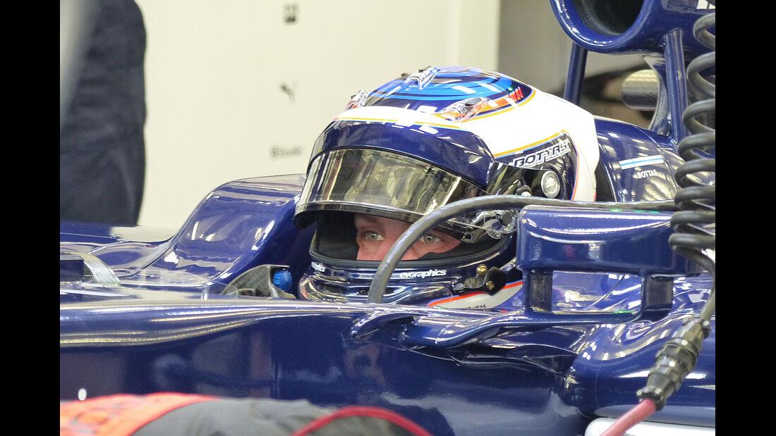 Valtteri Bottas - Williams - Formel 1 - Test - Bahrain - 20. Februar 2014