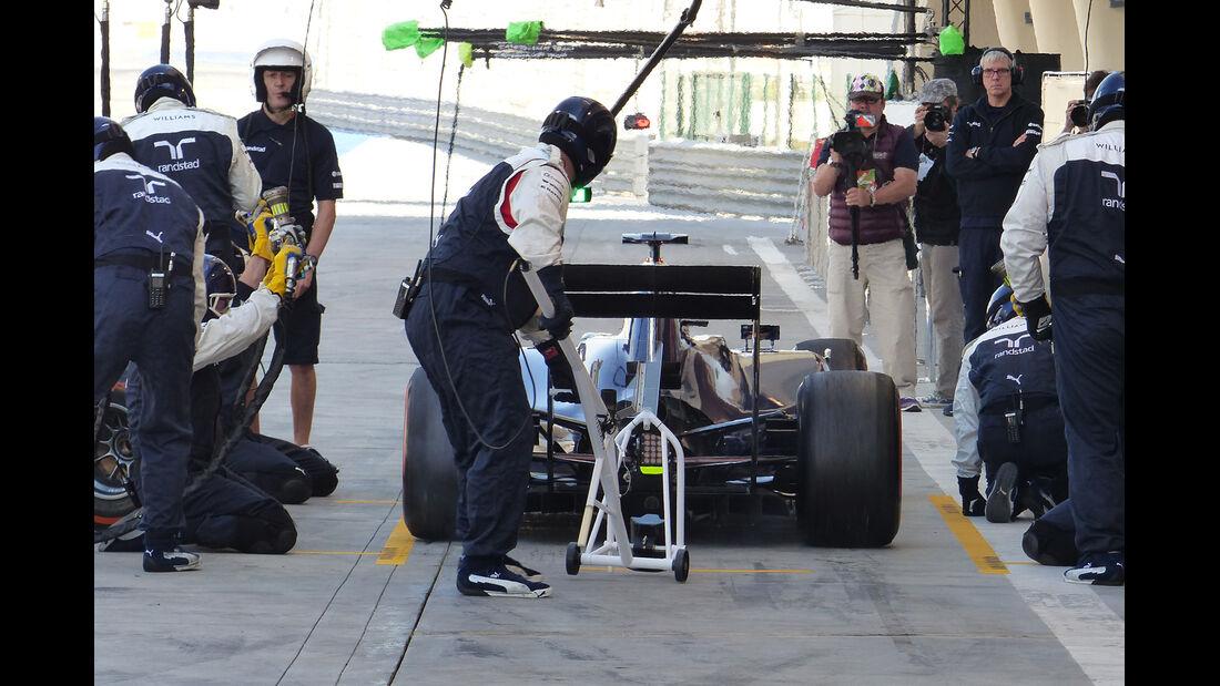 Valtteri Bottas - Williams - Formel 1 - Test - Bahrain - 21. Februar 2014