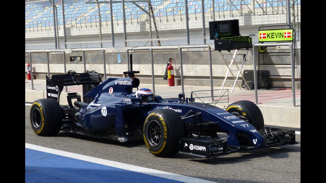 Valtteri Bottas - Williams - Formel 1 - Test - Bahrain - 27. Februar 2014