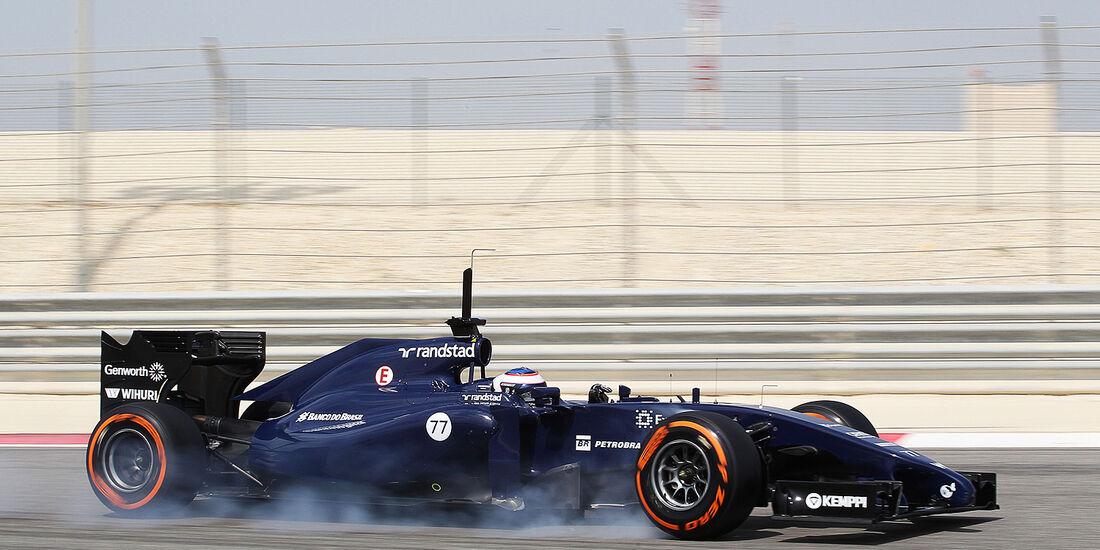 Valtteri Bottas - Williams - Formel 1 - Test - Bahrain . 27. Februar 2014