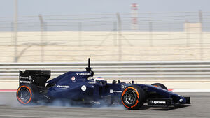 Valtteri Bottas - Williams - Formel 1 - Test - Bahrain . 27. Februar 2014