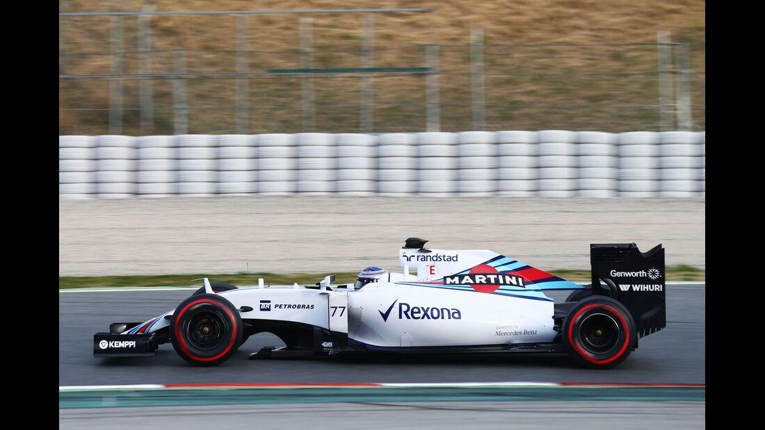 Valtteri Bottas - Williams - Formel 1-Test - Barcelona - 1. März 2015