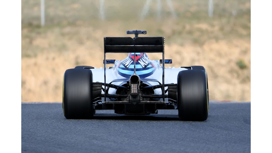 Valtteri Bottas - Williams - Formel 1-Test - Barcelona - 19. Februar 2015