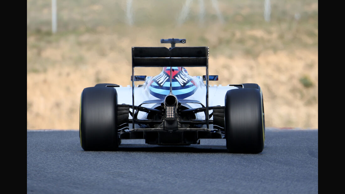 Valtteri Bottas - Williams - Formel 1-Test - Barcelona - 19. Februar 2015