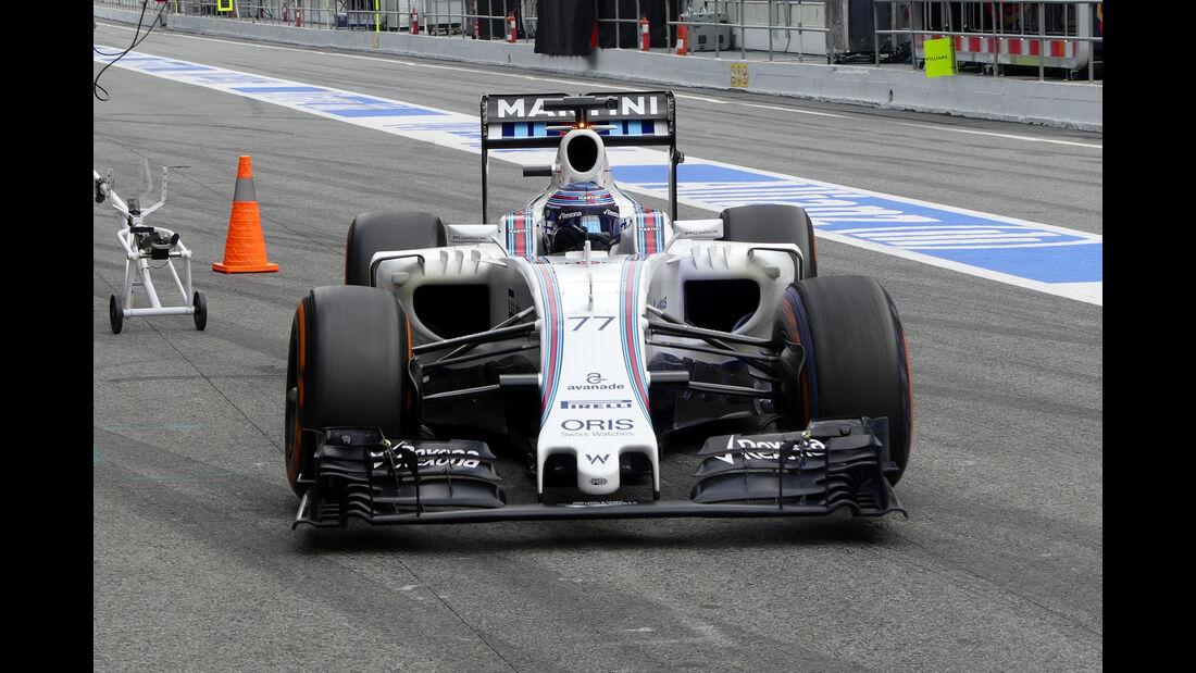 Valtteri Bottas - Williams - Formel 1 - Test - Barcelona - 2. März 2016