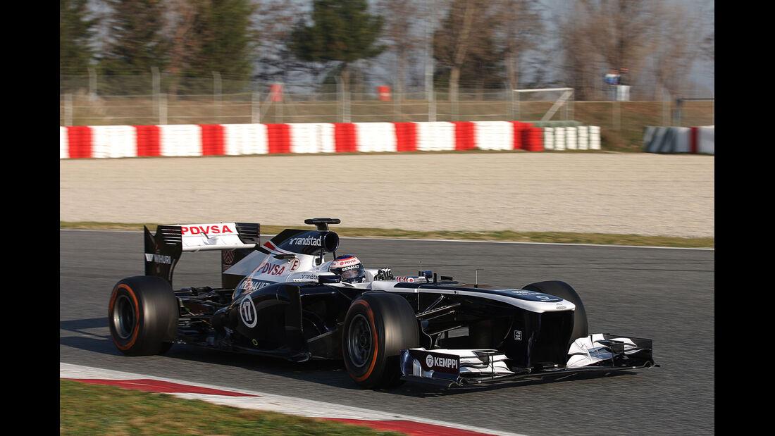 Valtteri Bottas, Williams, Formel 1-Test, Barcelona, 20. Februar 2013