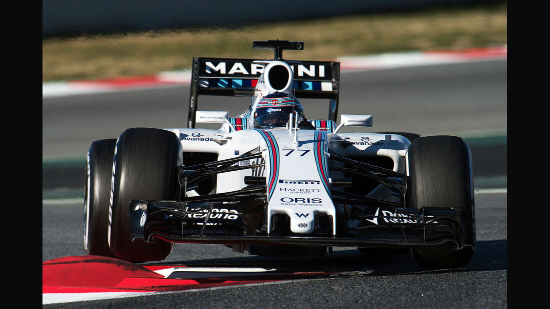 Valtteri Bottas - Williams - Formel 1-Test - Barcelona - 22. Februar 2015