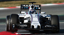 Valtteri Bottas - Williams - Formel 1-Test - Barcelona - 22. Februar 2015