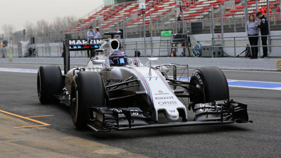 Valtteri Bottas - Williams - Formel 1-Test - Barcelona - 22. Februar 2016