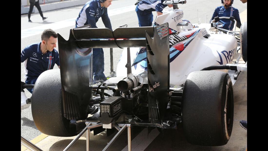 Valtteri Bottas - Williams - Formel 1-Test - Barcelona - 23. Februar 2016