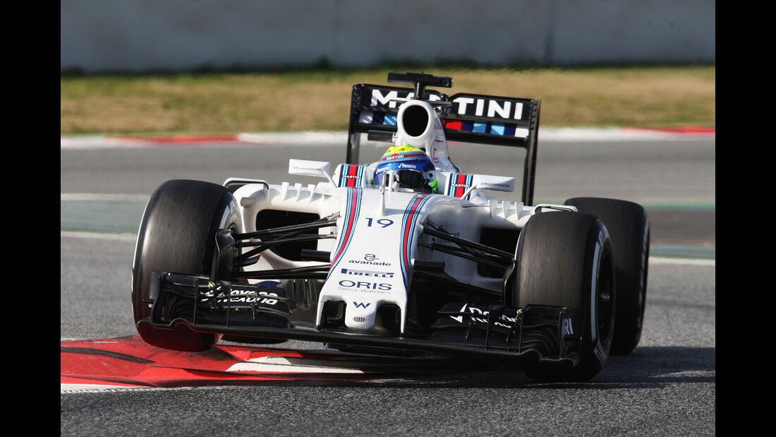 Valtteri Bottas - Williams - Formel 1-Test - Barcelona - 24. Februar 2016