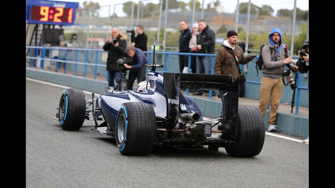 Valtteri Bottas - Williams - Formel 1 - Test - Jerez - 29. Januar 2014