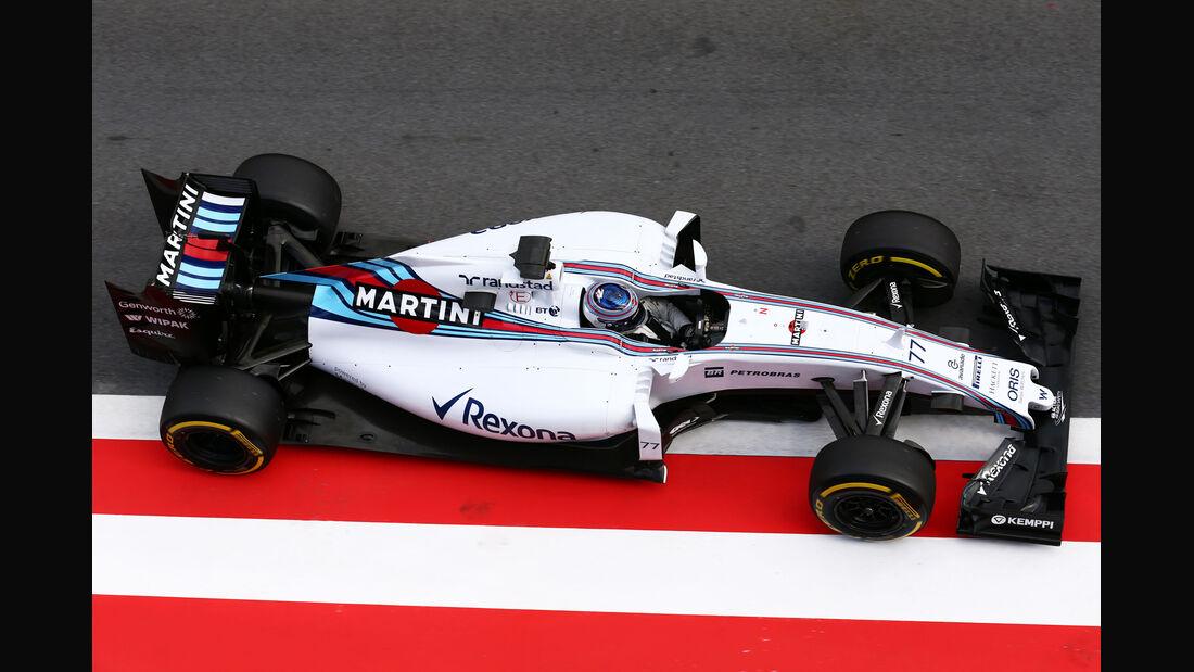 Valtteri Bottas - Williams - Formel 1-Test - Spielberg - 24. Juni 2015